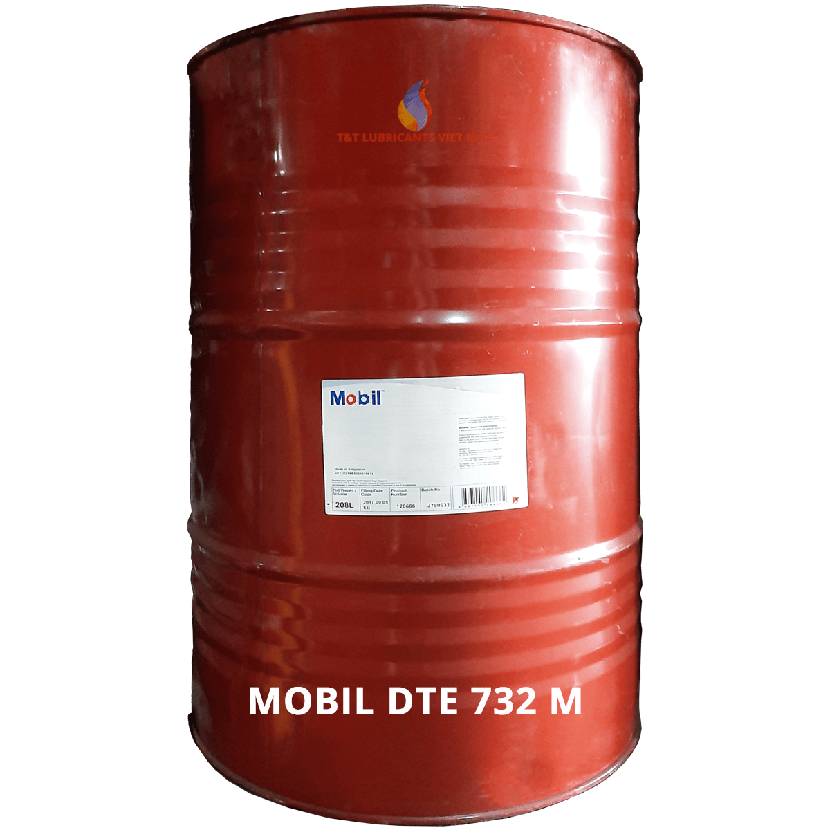 Mobil Dte 732 M T T Viet Nam Lubricants Co Ltd